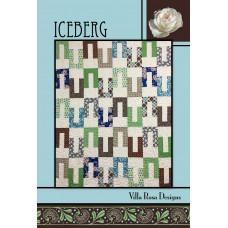 Iceberg pattern card by Villa Rosa Designs - Jelly Roll Friendly