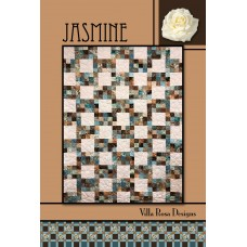Jasmine pattern card by Villa Rosa Designs - Fat Quarter Friendly Pattern