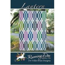 Lantern pattern card by Villa Rosa Designs - Fat Quarter Friendly Pattern