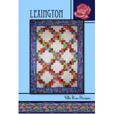 Lexington pattern card by Villa Rosa Designs - Jelly Roll Friendly