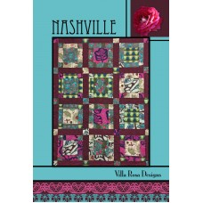 Nashville pattern card by Villa Rosa Designs - Fat Quarter Friendly