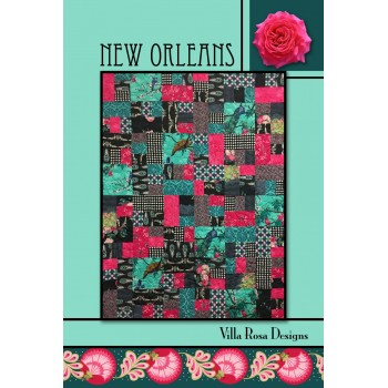 New Orleans pattern card by Villa Rosa Designs