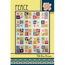 Peace pattern card by Villa Rosa Designs - Jelly Roll Friendly