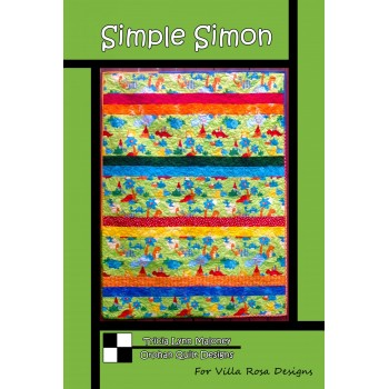Simple Simon pattern card by Villa Rosa Designs