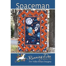 Spaceman pattern card by Villa Rosa Designs - great pattern for your favorite panel!