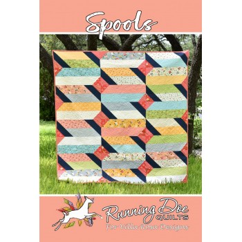 Spools pattern card by Villa Rosa Designs