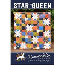 Star Queen pattern card by Villa Rosa Designs - Fat Quarter Friendly