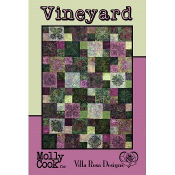 Vineyard pattern card by Villa Rosa Designs - Layer Cake/Charm/Scrap Pattern