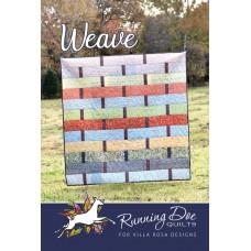 Weave pattern card by Villa Rosa Designs - Fat Quarter Friendly Pattern