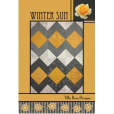 Winter Sun pattern card by Villa Rosa Designs - Fat Quarter Friendly Pattern