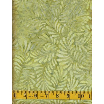 Wilmington Batik 22098-700 Fern Feathers Batik