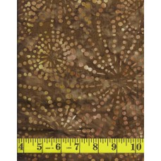Wilmington Batik 22128-282 Golden Brown Sparklets Batik