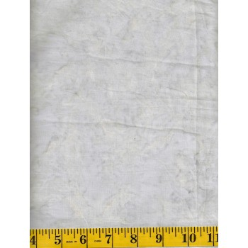 Wilmington Batik 2677-900 Colorglow Gray Solid with Ivory and Gold Accents